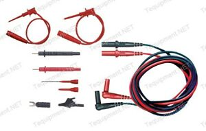 Pomona 5543b Electronic Dmm Test Lead Kit For Hand held Meters