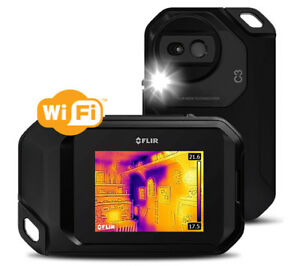 Flir C3 nist Compact Thermal Imager Includes Wi fi Ability