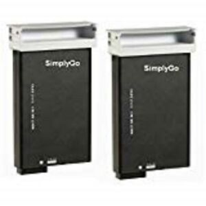 Respironics Simplygo Lithium Ion Battery Replacement 2 Pack