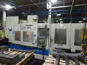 Okuma Mx 55va Cnc Vertical Machining Center W Apc B38135