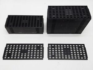 Lot 51 Tsop I Sdram 8x12 96 slot Ic Chip Shipping Baking Stackable Matrix Trays