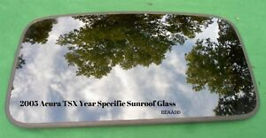 2005 Acura Tsx Oem Year Specific Sunroof Glass No Accident Free Shipping