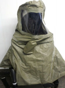 Scotts Safety Proflow 3 Papr Respirator Air Butyl Face Mask Army Green Hood