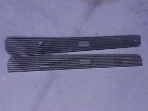 1967 1968 Mustang Gt Shelby Gt350 Gt500 Orig Deluxe Door Lower Grille Panel Set