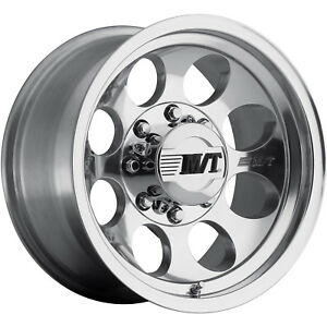 17x9 Polished Mickey Thompson Classic Iii Wheels 8x6 5 0 Gmc Yukon 2500