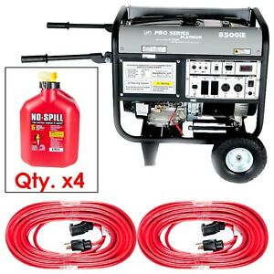 8500 Watt Generator Package 1585 Retail Value be Ready Only 3 Left brand New