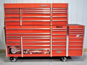 Snap On Red Krl1023 Tool Box Krl1203 Top Chest Krl1011 End Cabinet