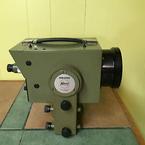 Kern Aarau Dm 2000 Edm For Total Staion Made In Switzerland Surveyor