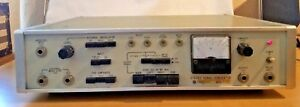 Vintage Stereo Signal Generator Meguro Msg 211f Tested Powers On