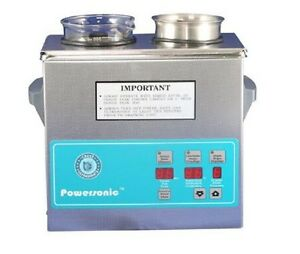 New Crest Powersonic P230d 45khz Ultrasonic Cleaner With Power Control