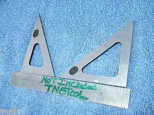 Triangles Angle Gage Blocks 45 30 Vintage Toolmaker Machinist Inspection Qa