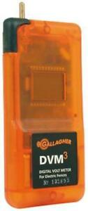 New Gallagher Electric Fence Tester Digital Volt Meter Dvm3 G503014 Ships Free