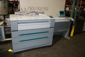Oce Tds 600 Wide Format Printer Scanner Plotter Blue Print