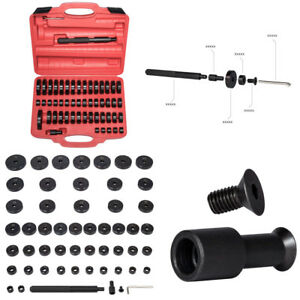 52x Bush Bearing Seal Driver Set Press Removal Auto Workshop Tool Hub Puller Kit
