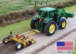 8 Ft Grader Drag 3 Point Hitch Cat 2 Or 3 60 To 70 Hp Req Rear Magnet