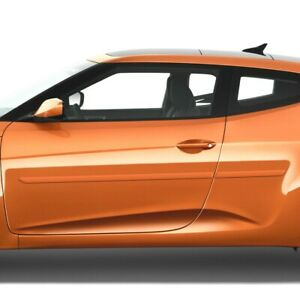 Painted Body Side Moldings Trim Mouldings For Hyundai Veloster 2012 2019