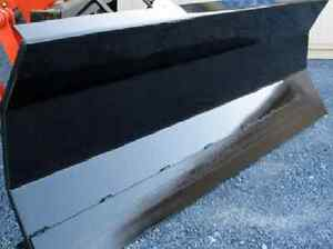 New 8 96 Snow Plow Blade Skid Steer Loader tractor Bobcat Cat case Manual Angle