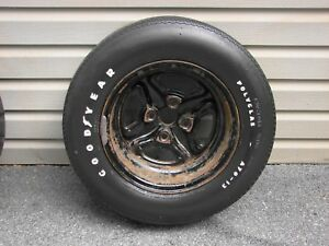 71 72 73 74 75 Chevrolet Vega Gt Rally Wheel A70 13 Goodyear Polyglas Tire