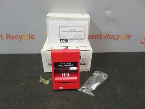 Edwards Systems Technology Fire Alarm Siga 278 Manual Pull Station New Lot Of 3