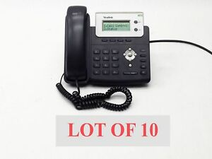 Lot 10 Yealink Ip Voip Sip t20p Poe Phone Hd Voice Business Office Telephone