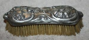 Antique Art Nouveau Derby Silver Co Brush Patented 1904