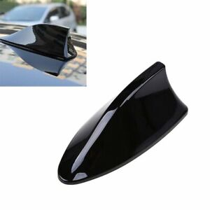 Universal Car Roof Radio Am Fm Signal Shark Fin Style Aerial Antenna Cover Black
