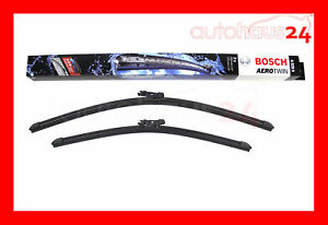 Audi A3 Quattro Front Window Wiper Blade Set New Bosch Oem 2006 2013