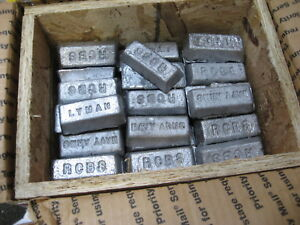 50 lbs Lead Ingots. Fluxed & Skimmed Wheel Weights...Perfect for Cast Bullets