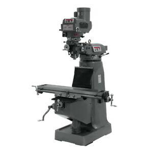Jet Variable Speed Vertical Milling Machine 230 460v 3ph 690182 Free Shipping