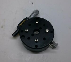 Melles Griot Optic 360 degree Rotation Stage W micrometer Adjustment