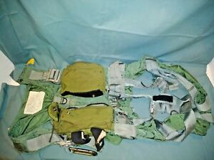 Naval Air Systems Ma 2 Parachute Restraint Personnel Harness Usa Military Vest
