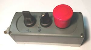 Forward Reverse Machine Switch On Off Start Emergency Red Pushbutton Stop Jog