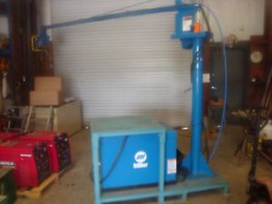 Miller Swingarc Boom Mounted Wire Feeder W Power Source