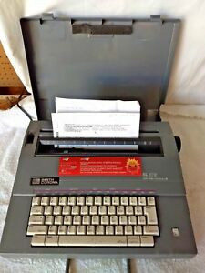 Smith Corona Sl 575 Spell Right Portable Electric Typewriter Fast Shipping