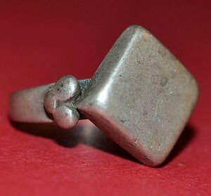 Antique African Tuareg Tribe Ethnic Silver Ring Niger Africa Ring Size 7 1 2