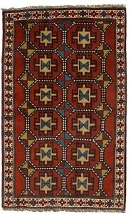 Gorgeous Hand Knotted Tribal Ghoochan Persian Wool Rug Oriental Area Carpet 4x6