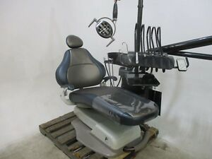 Forest 3900 Dental Patient Exam Chair W Delivery System Light