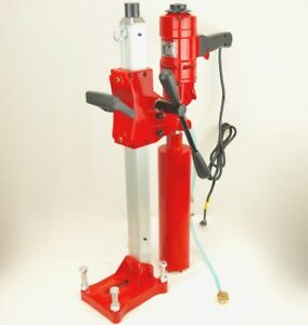 New 4 Bluerock Tools 4 Z 1ws Core Drill 2 Speed W Stand Concrete Coring