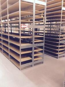 Lozier S Series Backroom Shelving 24 X 12 Used Lot 50 Store Fixture Shelves