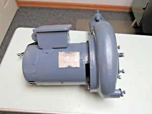 Hobart Am 12 Single Phase Pump Motor Assembly With Pump Housing Am 14 Free Ship