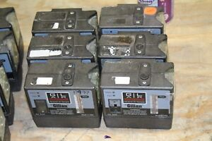Lot Of 6 Gilian Gilair Personal Air Samplers