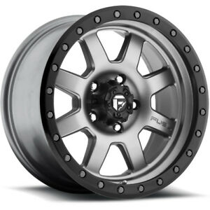 Fuel Trophy D552 18x10 6x139 7 6x5 5 12mm Gray Wheels Rims D55218008350