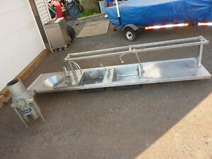 10 1 1 2 L X 26 1 4 w commercial Stainless Steel Sink W hobart Fw151 Disposal