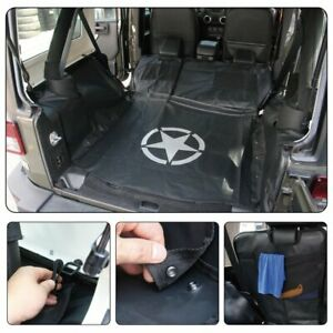 Rear Bench Floor Safety Mat Storage Cargo Cover For Jeep Wrangler Jk 2007 2018