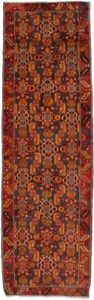 2 8x8 8 Colorful Unusual Design Hamedan Persian Runner Oriental Rug Carpet 3x9