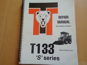Thomas T183 s Series Skid Steer Factory Repair Manual Oem