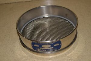 Gilson Usa Standard Test Sieve No 10 Metric 2mm Inches 0 0787 1