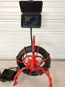 General Gen Eye Pod Sewer Snake Pipe Cleaner Video Inspection System 120 Cable