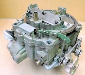 Gm 07029207 Rochester Q Jet Carb 3264 Build Should Be Checked Before Use