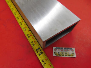 2 X 4 X 1 4 Wall Aluminum Rectangle Tube 6061 T6 60 Long 2 0 x 4 0 x 25